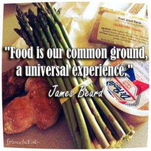 food is our common ground