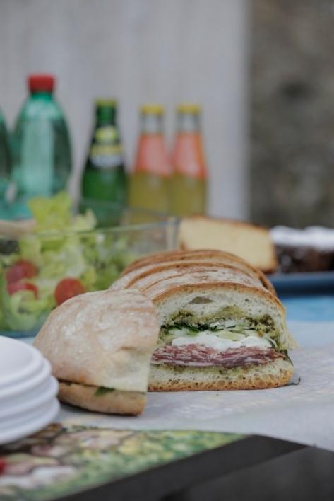 Marinated salumi sandwich Giada DL