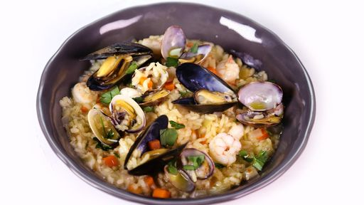 Seafood Risotto Mario Batali
